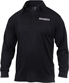long sleeve security polo shirts