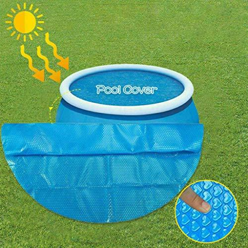 XXVH Schwimmbad Pool Solarabdeckplane, Schnellere Wassererwärmung & Geringere Wasserverdunstung, Rund Pools Abdeckungen, Poolisolationsfolie