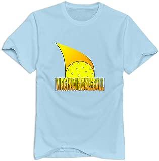 Tavil Pickleball 100% Cotton T-shirt For Male