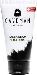 Qaveman Mens Skincare Moisturising Face & Beard Moisturiser 1 x 75 ml