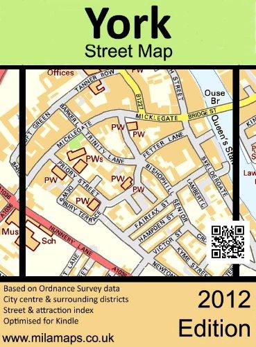 street map york uk York Street Map Ebook Adams Owen Amazon In Kindle Store street map york uk