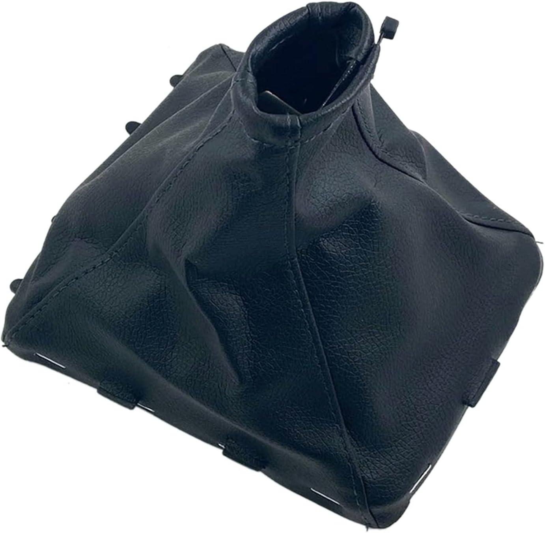 IJEOKDHDUW Black Leather Car Shift High quality new Gear Max 73% OFF Gaitor C Knob Boot Lever