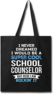Funny School Counselor Tote Bag Gifts Appreciation Thank...