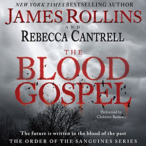 The Blood Gospel audiobook cover art