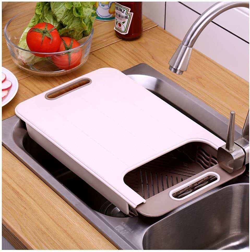 Cutting Weekly update Board Chopping specialty shop Sink Rack Telescopic