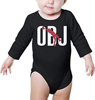Unisex Baby Cotton Long-Sleeve Bodysuits MVP-OBJ-13- One-Piece Coverall