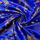 Chinesischer Brokatstoff, traditionelles Drachenkleid,