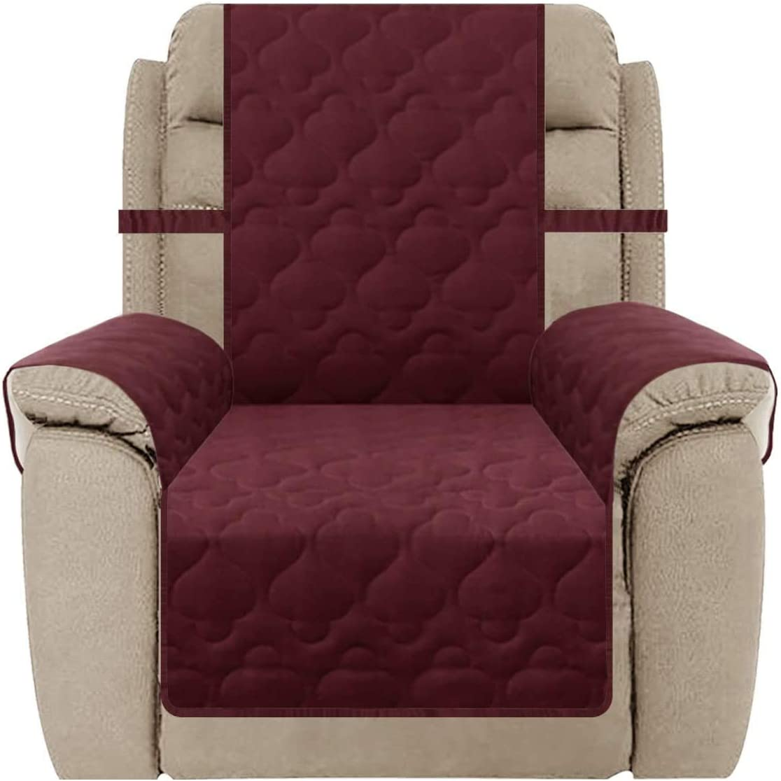 Waterproof Recliner Slipcover Non-Slip Cover Pr Couch OFFicial New color shop Furniture