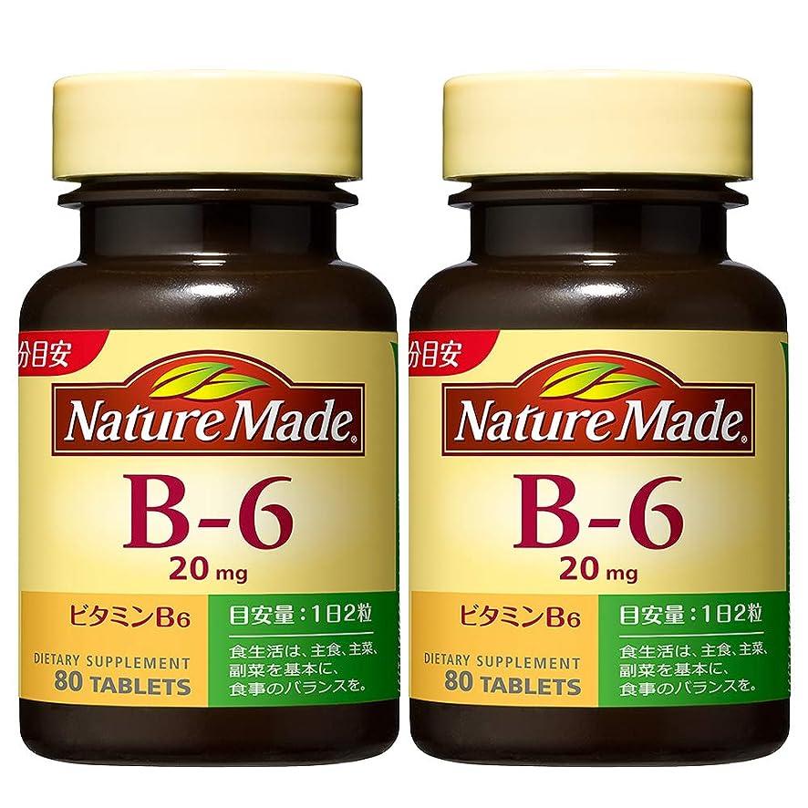 飛躍飢饉クリスマス大塚製薬 ネイチャーメイド ビタミンB-6 80粒 (2本セット)