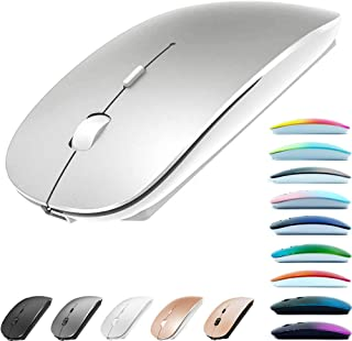 Rechargeable Bluetooth Mouse for MacBook pro/MacBook air/Laptop/iMac/ipad, Wireless Mouse for MacBook pro MacBook Air/iMac...