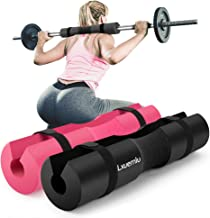 【2019 Upgraded】 Squat Pad Barbell Pad for Squats, Lunges, and Hip Thrusts - Foam Sponge Pad - Provides Relief to Neck and Shoulders While Training