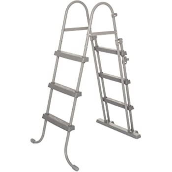 Bestway 58430 - Escalera Para Picinas Altura Máxima 84 cm: Amazon ...