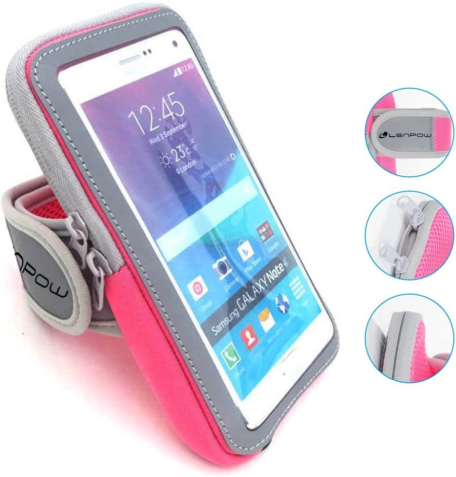 LENPOW Inventory Shipping included cleanup selling sale Multifunctional Outdoor Sports Sweatproof Armband Running