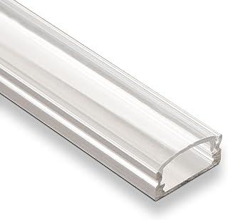 25 piezas SO-TECH® LED perfil-22 con cubierta translúcida cada 2m para tiras LED