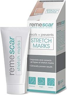 Remescar - Tratamiento de las estrías - Crema para las estrías - Prevención y reducción de las estrías clínicamente probad...