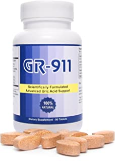 Western Herbal and Nutrition | GR-911 Uric Acid Cleanse & Joint Support | Reduce Inflammation | Natural Formula | Fast Acting Supplement | 90 Tablets