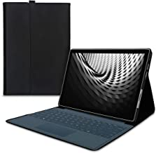 kwmobile Funda Compatible con Microsoft Surface Pro 7 - Cierre magnético y Compatible con Type Cover - Carcasa de Cuero sintético