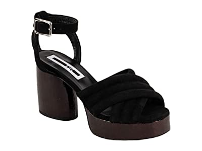 McQ Rise Sandal (Black) Women