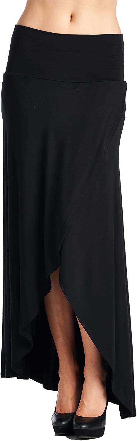 82 Days Women's Various Styles Various Fabric Maxi Skirts  Solid & Print
