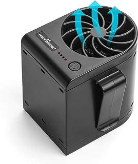 【2019年最新改良版】 KEYNICE ベルトファン ジェットファン USB充電式 強風 風量3段階調節 腰ベルトファン 作業服用ファン ウエストに装着可能 作業/アウトドア/旅行/に適用