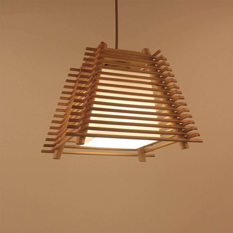 Pendelleuchte Japanischen Kronleuchter Kreative Holz Restaurant Cafe E27 Deckenleuchte Wohnzimmer Schlafzimmer Dekoration Kronleuchter