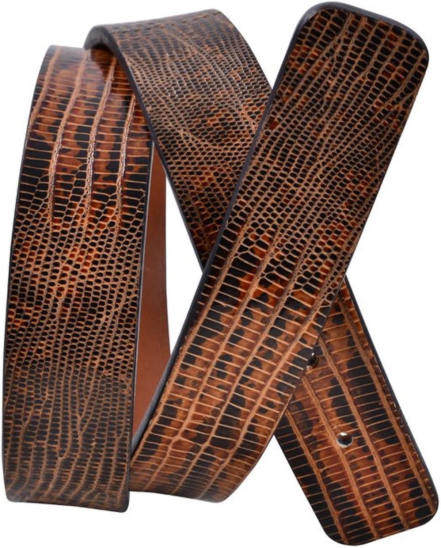 Agnona Belt Women's Brown Lizard leather 80
