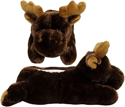 Wishpets 12 Moose Slippers