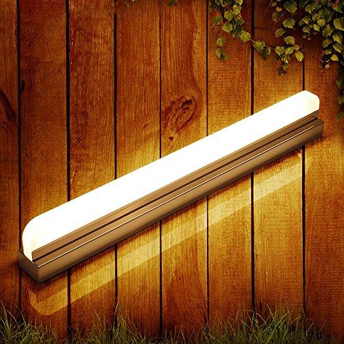WWW Spiegel koplamp, make-up lamp, eenvoudige moderne wandlamp, acryl, anti-condens, LED, badkamer, kast, plafondlamp