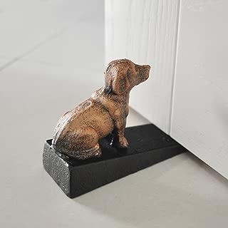 Cast Iron Door Stop - Decorative Rustic Door Stoppers- Stop Your Bedroom, Bath and Exeterior Doors 3.9x5.9