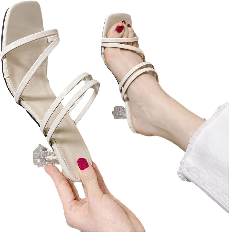 Padaleks Women's High Heels Sandal Cross Mesa Mall Outdoor Summer Open Toe Sales results No. 1