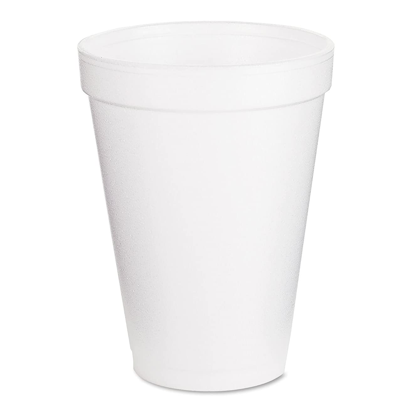 Dart 12J12 Foam Cup Hot or Cold, 1000 per Case, 12 oz.