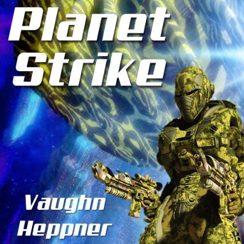 Planet Strike audiobook cover art