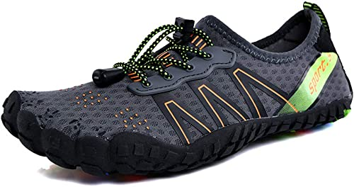 SELCNG Chaussures Nautiques Chaussures de Sport Nautiques à séchage Rapide, Pieds nus-Style3-38
