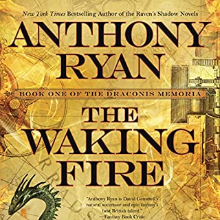 The Waking Fire audiobook cover art
