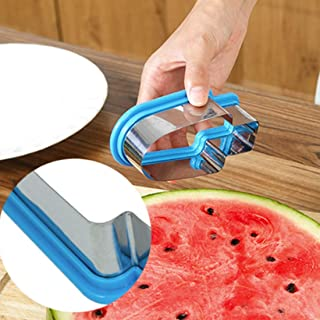 Kitchen Accessories - Creative Watermelon Slicer Ice Cream Mold Vegetable Cutting Stainless Steel Popsicle Simple M - Dishes Silicone Covers Oven Lemon Plastic Chopper Gray Rack Rose Toddlers
