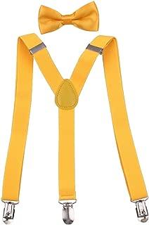 Boys Suspenders Bow Tie Set 1