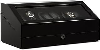 Klarstein Old Marshall - Watch Winder, vetrina Orologi, Custodia per Orologi