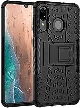Clorox Samsung Galaxy M10s Kick Stand Cover Black Hard with Stand Back Cover for Samsung Galaxy M10s (Black)