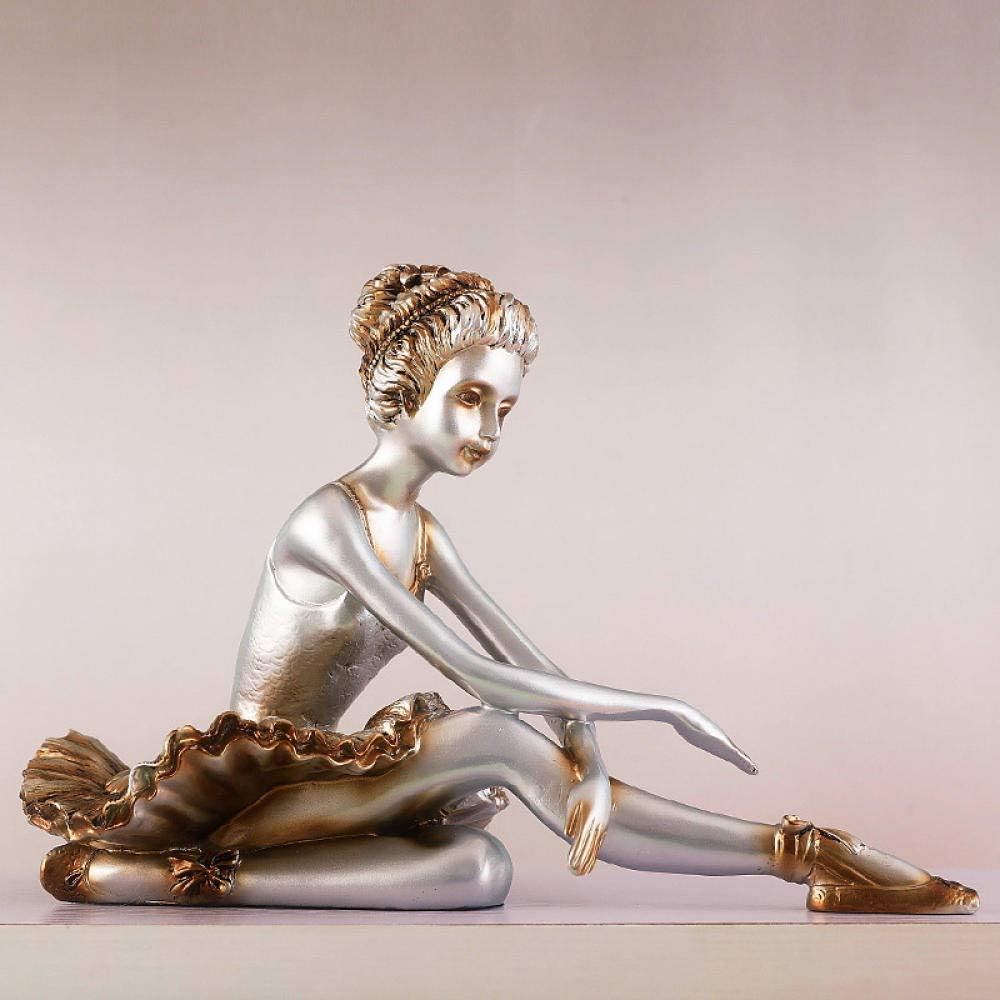 Ballet Dancer Sculpture for Home Room Decor Decoratio Living Chicago Mall Fig Purchase
