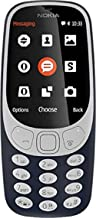 Nokia 3310 Dual SIM Feature Phone with MP3 Player, Wireless FM Radio and Rear Camera