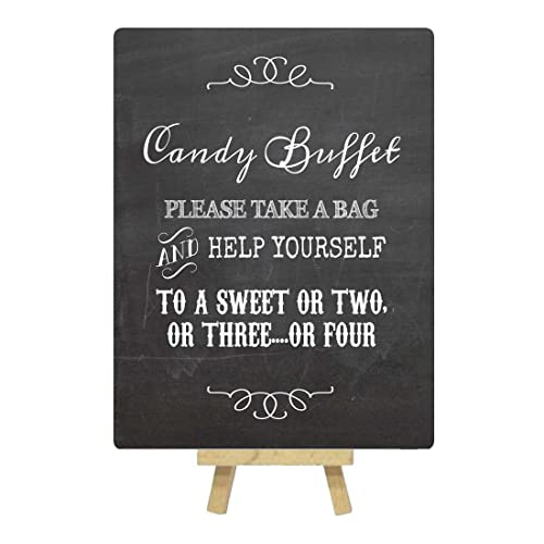 photo about Free Printable Candy Buffet Signs referred to as Adorable Desk Signal: .british isles