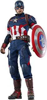 Hot Toys Marvel: Avengers Age of Ultron- Captain America 1/6th Scale Collectible Figure MMS 281
