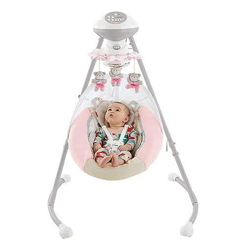 Fisher-Price My Little Snugabear Ballerina Cradle 'n Swing