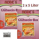 Orange-Ingwer-Glühwein 4,8% Alc. 2er-Pack, 2 x 5 Liter