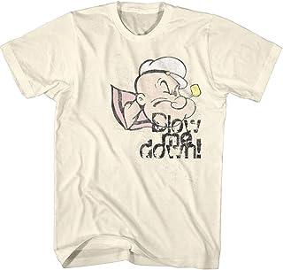 Popeye Blow Me Down - Camiseta para hombre Beige natural XL