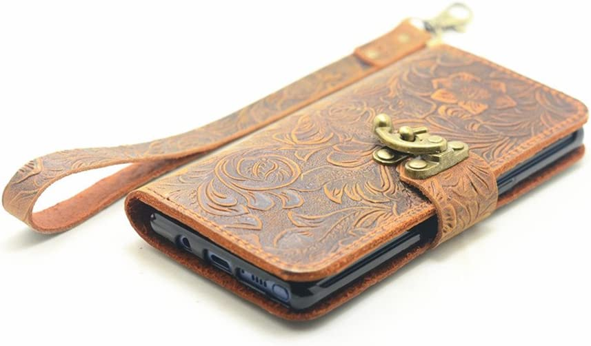 Attention brand JJNUSA Handmade Retro Book Choice Style Case Wallet for Leather Samsung