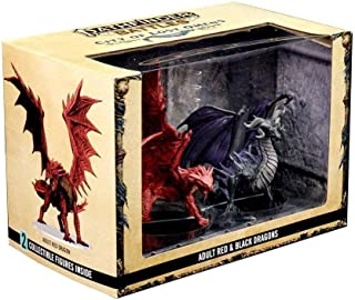 Pathfinder Battles: City of Lost Omens Premium Set: Adult Red& Black Dragons