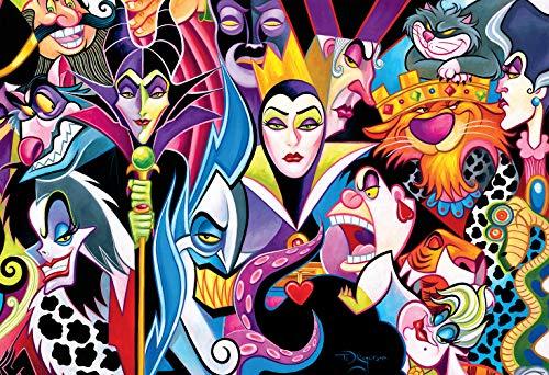 Disney Villains 1500 Piece Ceaco Jigsaw Puzzle USA Maleficent Ursula Cruella
