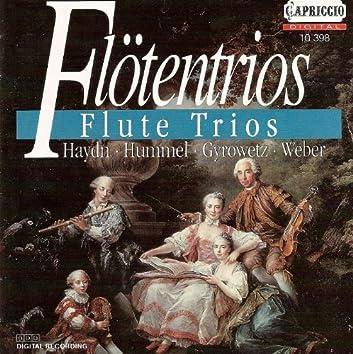 Flute Trios - Hummel, J.N. / Haydn, F.J. / Gyrowetz, A. / Weber, C. M. Von