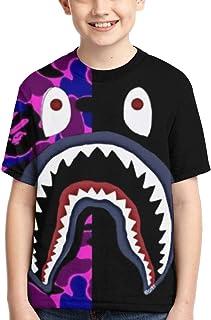 Boy b-ape Shirt bape Shorts bape Kids Short-Sleeve T-Shirt for Teenage